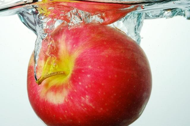 アップルサイダービネガー入りお風呂