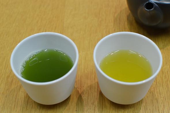 煎茶と抹茶